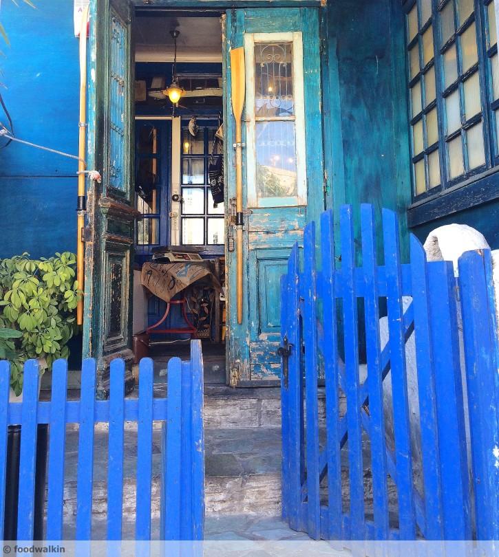 the door w
