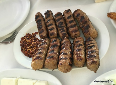 meatball sausages